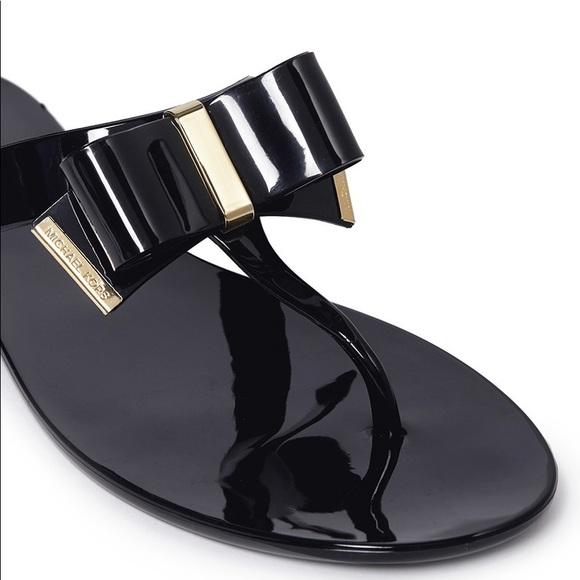 Michael Kors Kayden Jelly Bow Sandal